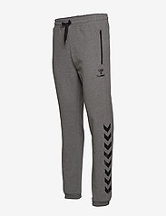 Hummel - HMLRAY PANTS - pants - dark grey melange - 3