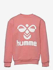 Hummel - HMLDOS SWEATSHIRT - sweatshirts - tea rose - 0