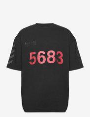 Hummel - hmlWILLY BUFFALO T-SHIRT S/S - t-shirts - black - 0