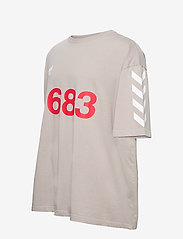 Hummel - hmlWILLY BUFFALO T-SHIRT S/S - t-shirts - paloma - 2