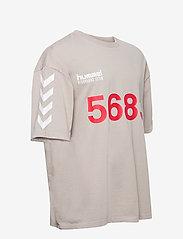 Hummel - hmlWILLY BUFFALO T-SHIRT S/S - t-shirts - paloma - 3