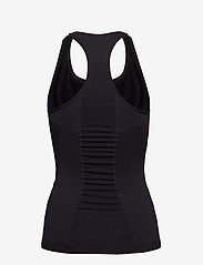 Hummel - HMLCLEA SEAMLESS TOP - tank tops - black melange - 1