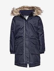 hmlLISE COAT - BLACK IRIS