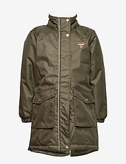 Hummel - hmlLISE COAT - insulated jackets - forest night - 2