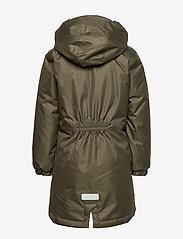 Hummel - hmlLISE COAT - insulated jackets - forest night - 3