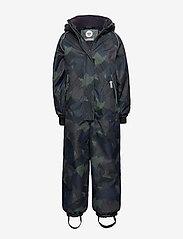 Hummel - hmlTRAVIS SNOWSUIT - snowsuit - olive night - 0