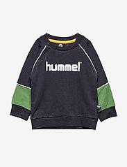 Hummel - hmlJET SWEATSHIRT - sweats - dark navy - 0