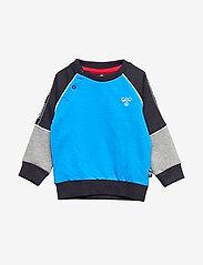 Hummel - hmlREADY SWEATSHIRT - sweats - diva blue - 0