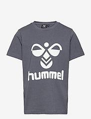 Hummel - hmlTRES T-SHIRT S/S - short-sleeved - ombre blue - 0