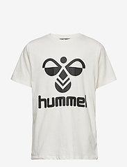 Hummel - hmlTRES T-SHIRT S/S - short-sleeved - whisper white - 0