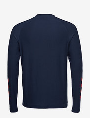 Hummel - hmlJAREL T-SHIRT L/S - bluzki z długim rękawem - black iris - 1