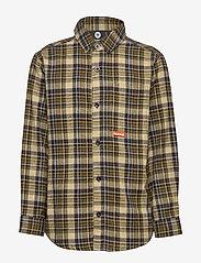 Hummel - hmlVIGGO SHIRT - chemises - olive night - 0