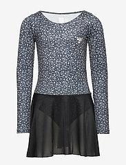 Hummel - hmlFREJA GYM SUIT - robes - black/grey - 0