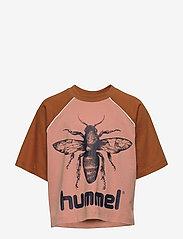 Hummel - hmlANNA T-SHIRT S/S - À manches courtes - rose dawn - 0