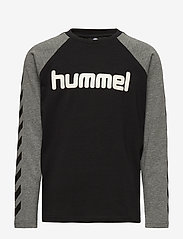 Hummel - hmlBOYS T-SHIRT L/S - long-sleeved t-shirts - black - 0