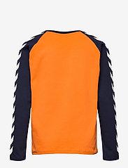 Hummel - hmlBOYS T-SHIRT L/S - long-sleeved t-shirts - carrot - 1