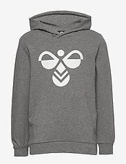 Hummel - hmlCUATRO HOODIE - hoodies - medium melange - 0