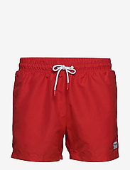 hmlRENCE BOARD SHORTS - HIGH RISK RED