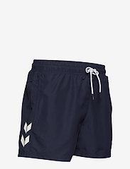 Hummel - hmlRENCE BOARD SHORTS - shorts - peacoat - 3