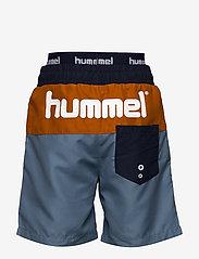 Hummel - hmlGARNER BOARD SHORTS - bademode - copen blue - 1