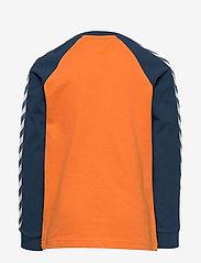Hummel - hmlLUCKY T-SHIRT LS - bluzy - apricot buff - 1