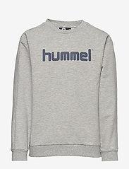 Hummel - hmlWARIS SWEATSHIRT - bluzy - grey melange - 0