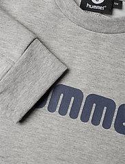 Hummel - hmlWARIS SWEATSHIRT - bluzy - grey melange - 2