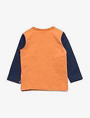 Hummel - hmlCLYDE T-SHIRT L/S - long-sleeved t-shirts - apricot buff - 1