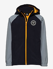 Hummel - hmlFREDERIK SOFTSHELL JACKET - kurtka softshell - night sky - 0