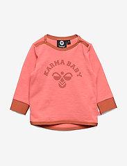 Hummel - hmlLUCY T-SHIRT L/S - long-sleeved t-shirts - lantana - 0