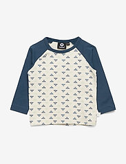 Hummel - hmlVICTOR T-SHIRT L/S - long-sleeved t-shirts - majolica blue - 0
