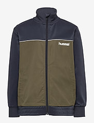 Hummel - hmlHAMILITON ZIP JACKET - bluzy - blue nights - 0