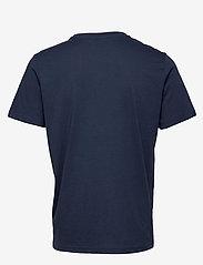 Hummel - hmlPETER T-SHIRT S/S - t-shirts - black iris - 1