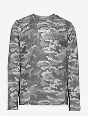 Hummel - hmlRUSSEL T-SHIRT L/S - long-sleeved t-shirts - wet weather - 0