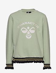 Hummel - hmlBETTE T-SHIRT L/S - long-sleeved t-shirts - sea foam - 0