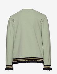 Hummel - hmlBETTE T-SHIRT L/S - long-sleeved t-shirts - sea foam - 1