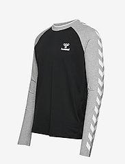 Hummel - hmlMARK T-SHIRT L/S - bluzki z długim rękawem - black - 2