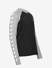 Hummel - hmlMARK T-SHIRT L/S - bluzki z długim rękawem - black - 3