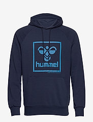 Hummel - hmlISAM HOODIE - hoodies - black iris - 0