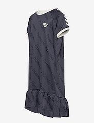 Hummel - hmlSARA DRESS S/S - kleider - blue nights - 2