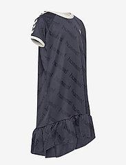Hummel - hmlSARA DRESS S/S - kleider - blue nights - 3