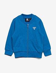 Hummel - hmlJUNO ZIP JACKET - sweatshirts - directoire blue - 0