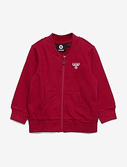 Hummel - hmlJUNO ZIP JACKET - sweatshirts - rio red - 0