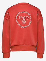 Hummel - hmlMADISON ZIP JACKET - sweatshirts - chili - 1