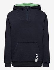 Hummel - hmlJACOB HOODIE - hoodies - blue nights - 0