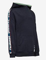 Hummel - hmlJACOB HOODIE - hoodies - blue nights - 3