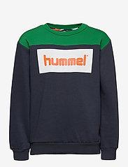 Hummel - hmlLIAM SWEATSHIRT - sweatshirts - blue nights - 0