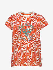 Hummel - hmlOLIVIA T-SHIRT S/S - short-sleeved - carrot - 0