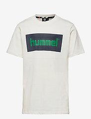 Hummel - hmlKARLO T-SHIRT S/S - short-sleeved - whisper white - 0