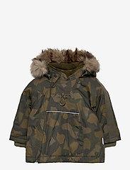 Hummel - hmlJESSIE JACKET - insulated jackets - olive night/ ecru olive - 0